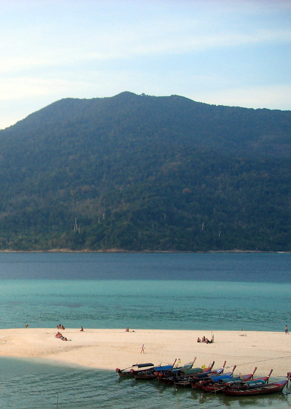 Ko Adang as seen from Ko Lipe