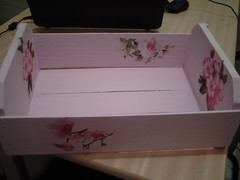 caixote rosa (iza-vidya artesanato) Tags: reciclagem decoupage caixotes