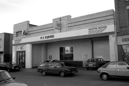 1980 S Picture P J Evans Austin Rover Dealership A