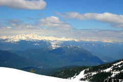 A look at Heaven (Gary Everson) Tags: trees sky snow mountains clouds whistler scenery bc view bluesky blackcomb