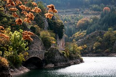 Bronze and Silver (Tengen Toppa Kaitsuu Me) Tags: italy lake del lago san italia abruzzo domenico gola aquila noprocessing villalago sagittario