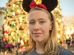 if I were you I'd do what the girl with the ears says... (nosha) Tags: california christmas ca usa ears olympus disney mickey lightroom 2011 losangelescaliforniausa nosha lumixg20f17 christmas2011 epl3 olympusepl3