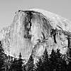 In Everyday Balance (Thomas Hawk) Tags: california bw usa unitedstates 10 unitedstatesofamerica yosemite halfdome yosemitevalley fav10 natureshand