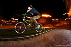 Crooked - Antonio del Amo (QuiqueBueno) Tags: espaa sport canon eos spain bmx flash extreme fisheye antonio 8mm len crooked 500d samyang quiquebueno
