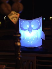 Owl (Lisa Katherine Lenore Brown) Tags: light car greek owl