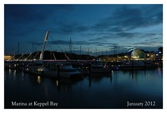 Marina at Keppel Bay (Samsul Adam) Tags: homes sunset sea water marina reflections boats bay daniel property architect caribbean libeskind sentosa straits condominium keppel keppelbay caribbeanatkeppelbay reflectionsatkeppelbay marinaatkeppelbay