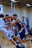12-01 Bsktbll - Whitinsville Christian School Crusaders vs Hopedale Blue Raiders -  434