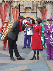 What A Gentleman (briberry) Tags: disneyland mary bert disney poppins