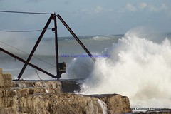 DSC00766 (Mark Coombes Photography) Tags: sea portland waves dorset rough