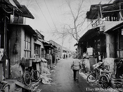 B033 Beijing Hutong (dakang) Tags: china bw film silver handmade chinese beijing documentary hutong archival gelatin dakang dakangphoto