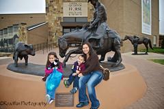 Cheese! (Road Fun) Tags: sculpture horse museum cowboy texas princess amarillo american junior wife quarter calf bh nikond90 afsdxzoomnikkor1855mmf3556gedii