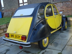 1982 Citroen 2CV Charleston (GoldScotland71) Tags: 1982 citroen charleston 2cv 1980s bre553y