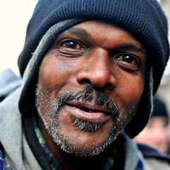 A Cold Day To Be Homeless (Viewminder) Tags: chicago love humanity joy happiness karma kindness upclose understanding soulpatrol itsatoughlife viewminder vivianmaierphotowalk shedsomelightonme