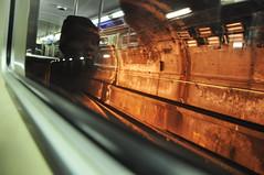 Subway Tunnel (K. McMahon) Tags: portrait chicago subway illinois cta blueline toshivisitkaraokesnow