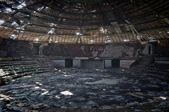 207 (Nicolaiona) Tags: lenin abandoned stars mosaic communism bulgaria tiles marx derelict urbanexploring shipka ufobuilding todorzhivkov buzludzhamonument bulgariansocialdemocraticworkersparty