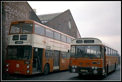 Non Standard in a Standardised Fleet (Zippy's Revenge) Tags: bus derwent garage transport leopard depot jumbo daimler leyland fleetline atherton lut 436 greatermanchester plaxton 2397 howebridge northerncounties lancashireunited ncme lte487p rtj425l