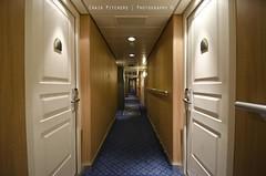 Vanishing Point - MSC Sinfonia (Craig Pitchers) Tags: door vanishingpoint nikon long ship corridor sinfonia passage vanishing msc liner 10mm mscsinfonia 1024mm d7000 nikond7000 nikon1024mm longpassage