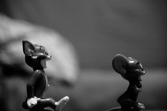 Tom & Jerry (Salva G.) Tags: bw white black byn blanco tom digital lens reflex nikon y jerry negro cartoon d70s sigma bn single blanc negre 56 1850 f35 tomjerry