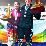 Teck Enquist Slalom 2012, Mt. Seymour - Stefanie Fleckenstein (WMSC) and Paul Cotton (Grouse) overall Champions