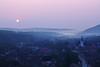 morning in Sibiel (next_in_line) Tags: morning sun mist fog landscape early haze village romania transylvania sibiel