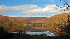 Morning light (CNorth2) Tags: uk morning travel autumn light mountains reflection fall canon landscape scotland highlands powershot western loch g11 ardgour linnhe