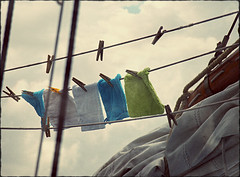 about ordinary life (macfred64) Tags: laundry textured ordinarylife blueclouds vintagetones laundrydays theartofordinarylife