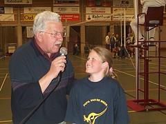2003 Derk Runhaar introduceert de pupil van de week
