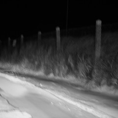 (sylvain&1) Tags: road bw blur night square nb route nuit flou carr