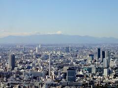 Tokyo City View, Roppongi Hills Mori Tower (Dick Thomas Johnson) Tags: japan architecture skyscraper buildings tokyo mountfuji  roppongi  moribuilding roppongihills    moritower cityview observationdeck       tokyocityview     roppongihillsmoritower