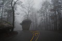 Mushroom Rock (the waterfallhunter) Tags: rock fog z littlerivercanyon lookoutmountain mushroomrock dekalbcounty fortpaynealabama littlerivernationalpreserve scenicalabama