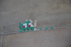 Space Invaders (PA_229) (Ausmoz) Tags: street urban streetart paris art wall tile mosaic space spaceinvaders tiles installation invader 75006 walls rue mur mosaique murs invaders installations urbain 229 mosaiques pa229