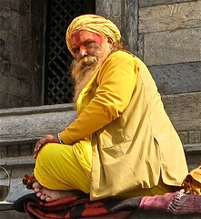 Pashupatinath (Micheline Canal) Tags: nepal asie himalaya personne visage