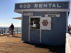 rental, Pismo Pier, Pismo Beach, November 21, 2011 (/\/\ichael Patric|{) Tags: california wood november sign shop geotagged bicycling coast pier afternoon rental pacificocean shore bicyclist centralcoast pismobeach westcoast californiacoast sanluisobispocounty pismobeachcalifornia 2011 pismobeachpier michaelpatrick pismopier address:continent=northamerica address:country=unitedstatesofamerica address:state=california november2011 sanluisobispocountycalifornia geo:lat=351382 geo:lon=1206451 address:street=pismopier address:postalcode=93449 address:city=pismobeach