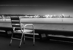 It's always a Festival at Cannes ~ Alpes-Maritimes / France ~ (Yannick Lefevre) Tags: light bw france monochrome photoshop star bay chair nikon raw nef dof bokeh cannes ps paca provence gettyimages d300 alpesmaritimes nikkor50mm lacroisette nikoncapturenx capturenx2
