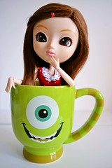ADAW 04/52 - Mike Wazowski (~isaa) Tags: summer kim disney pullip sa monstros obitsu purezza