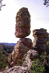 Pinnacle Rock - Heart of Rocks Trail - Chiricahua National Monument