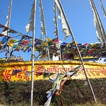 "Prayer Flags at Pemayangtse Monastery <a style=""margin-left:10px; font-size:0.8em;"" href=""http://www.flickr.com/photos/14315427@N00/6829408291/"" target=""_blank"">@flickr</a>"