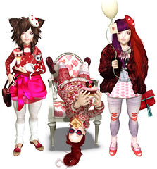 feb04-12 (elka_) Tags: pink red food white chihuahua love girl fashion hearts 3d upsidedown furniture chocolate stripes patterns avatar mashup style sl polkadots amour secondlife valentines wardrobe triplets fashionista pixels foodie saintvalentine stvalentin elka freebies hunts elkalehane pixelfood