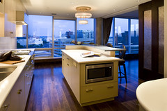 "Modern Kitchen island and cityscape views • <a style=""font-size:0.8em;"" href=""http://www.flickr.com/photos/75603962@N08/6853335051/"" target=""_blank"">View on Flickr</a>"