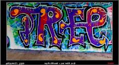 Graffiti  2014 (pharoahsax) Tags: world street urban bw streetart get art colors wall writing germany painting deutschland graffiti artwork mural paint artist kunst tag tags an spray peinture urbanart painter writer alb graff baden karlsruhe der ka legal spraycan wrttemberg sden 2013 pmbvw worldgetcolors