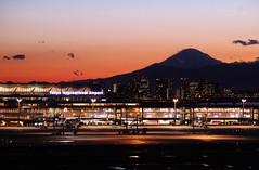 Haneda and Mt. Fuji (md-eleven) Tags: sunset sun japan night dawn airport fuji yokohama haneda hnd