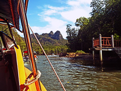 The Boat Tour (WiLL CWK) Tags: travel nature forest river landscape island photography woods scenery tour scenic mangrove malaysia langkawi kilim kedah mangroveforest geopark