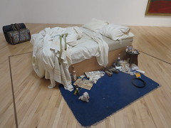 """My Bed"" by Tracey Emin at Tate Britain (John Steedman) Tags: uk greatbritain england london art unitedkingdom tracey emin mybed tatebritain traceyemin grossbritannien     grandebretagne"