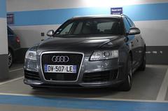 France (Toulon) - Audi RS6 Avant C6 (PrincepsLS) Tags: france berlin germany french plate license audi 83 var avant spotting c6 rs6 toulon
