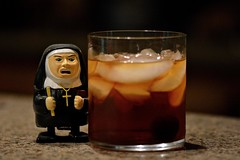 Temperance (ricko) Tags: ice glass toy drink nun alcohol booze manhatten temperance 2016 139366