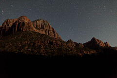 Zion National Park (adrianmojica) Tags: longexposure nightphotography sky nature night canon stars photography eos utah photo nationalpark unitedstates photos astro astrophotography 5d zion zionnationalpark canoneos5dmarkii 5dmarkii 5dmkii canonef24mmf14liiusm canon5dmarkiii
