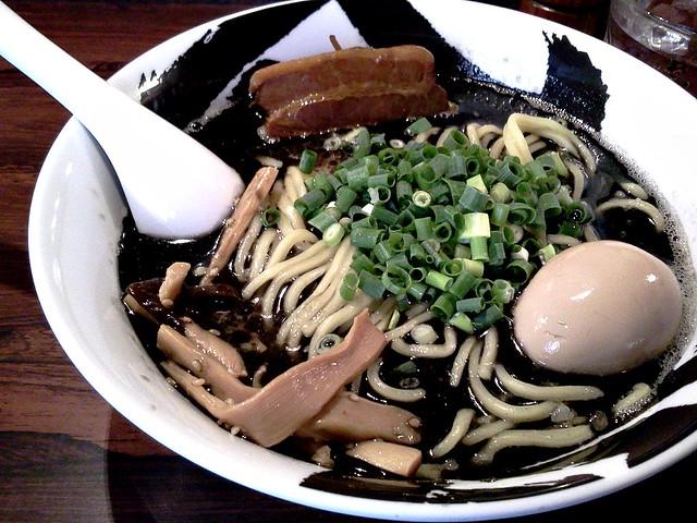 Kurobukotsu ( ramen ) from MENYA MUSASHI Bukotsu @ Ueno