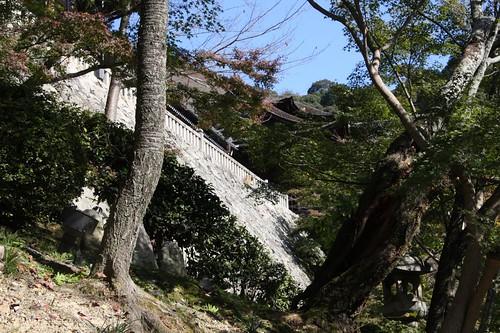 京都清水寺、秋のころ