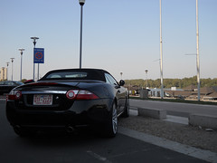 Carolina. (Stefan Sobot) Tags: black river nikon serbia fast convertible casino jaguar belgrade cabrio beograd supercar srbija xk