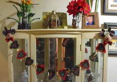 Mell (TELMELITA) Tags: natal boneco country artesanato fuxico feltro patchwork tecido trabalhomanual